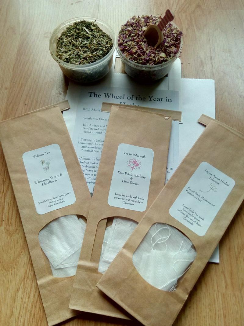 herb tea blending workshop